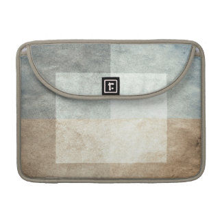 grungy watercolor-like graphic abstract sleeve for MacBooks