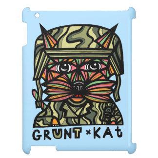 """""""Grunt Kat"""" 631 Art iPad Case"""