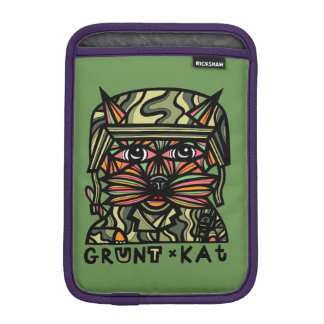 """Grunt Kat"" iPad Mini Soft Case"