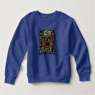 """Grunt Kat"" Toddler Sweatshirt"