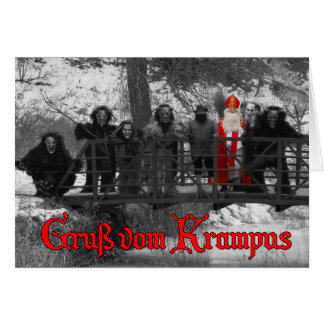 Gruß vom Krampus - B&W Card