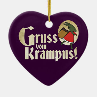 Gruss Vom Krampus Christmas Ornament