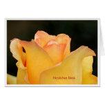 Grußkarte Herzlichen Dank Rose