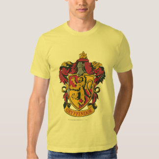 Gryffindor Crest Gold and Red Shirts