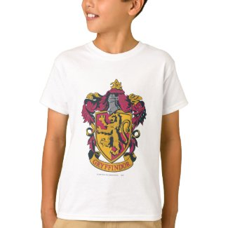 Gryffindor Crest Gold and Red T-Shirt
