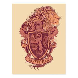 GRYFFINDOR™ Crest Postcard