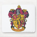 Gryffindor crest red and gold mousepad
