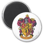Gryffindor crest red and gold refrigerator magnet