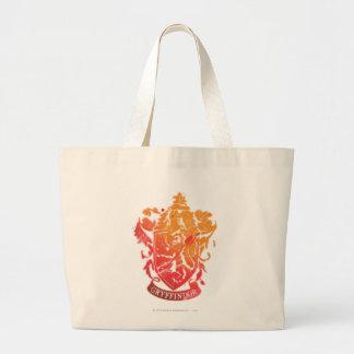 Gryffindor Crest - Splattered Jumbo Tote Bag