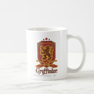 Gryffindor Quidditch Badge Basic White Mug