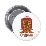 Gryffindor Quidditch Badge Button
