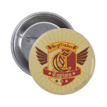 Gryffindor Quidditch Captain Emblem 6 Cm Round Badge