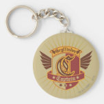 Gryffindor Quidditch Captain Emblem Keychain