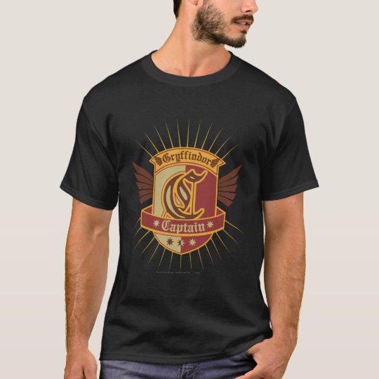Gryffindor Quidditch Captain Emblem T-Shirt