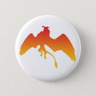 gryphon 6 cm round badge
