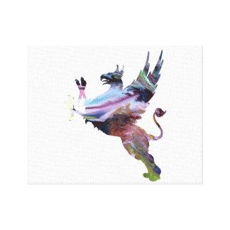 Gryphon Canvas Print