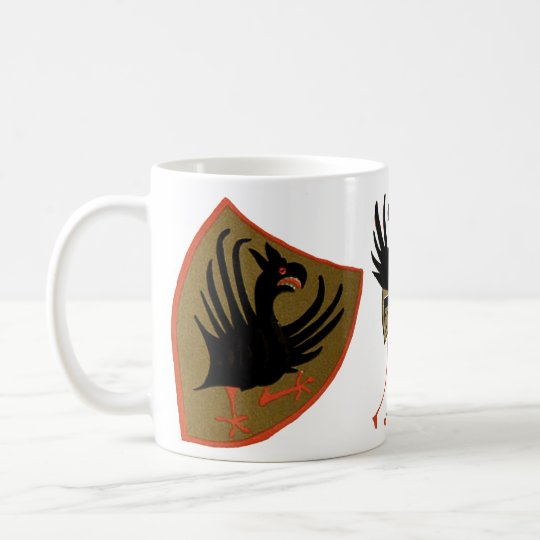 Gryphon, Griffin, Funky Chicken Coffee Mug