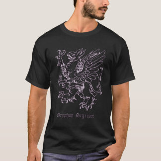 Gryphon medieval heraldry T-Shirt