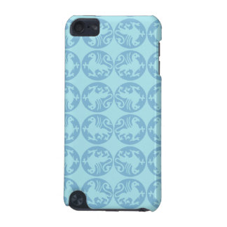 Gryphon Silhouette Pattern - Light Blue iPod Touch 5G Case