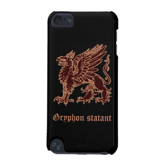 Gryphon statant medieval heraldry iPod touch 5G cover