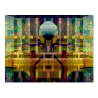"""Gryphon Tails"" Postcard"