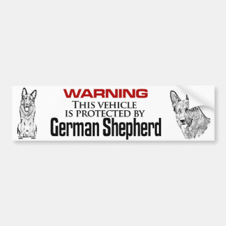 GSD protection - Bumper Sticker