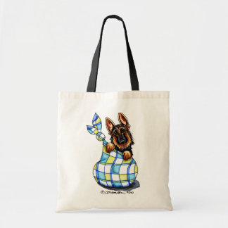 GSD Sack Puppy Budget Tote Bag