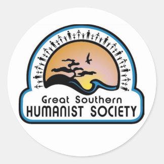 GSHS banner Round Sticker