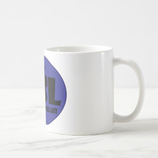 GSL Blue D Basic White Mug