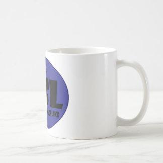 GSL Blue D Basic White Mug
