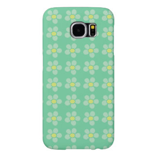 Gsm hoesje flowers samsung galaxy s6 cases