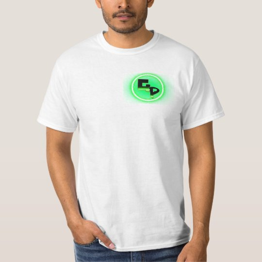 GSN GODPLAYS t-shirt with green logo