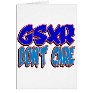 GSXRDC GREETING CARD