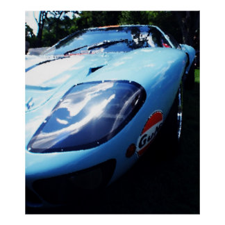 GT40 Gulf Posters