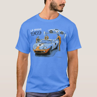 GT40s at Le Mans 1969 T-Shirt