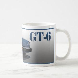 GT6 CLASSIC WHITE COFFEE MUG