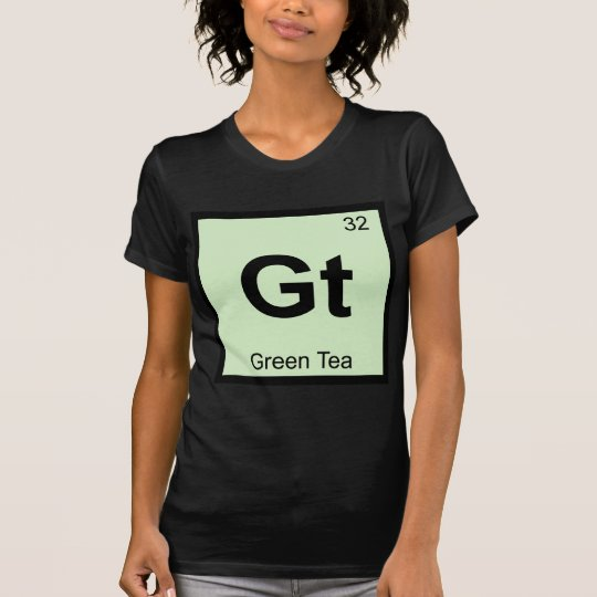 Gt - Green Tea Chemistry Periodic Table Symbol