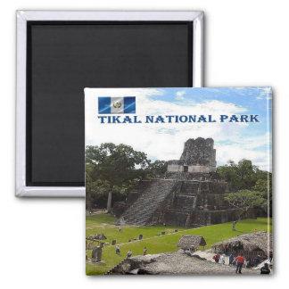 GT - Guatemala - Tikal - National Park Magnet