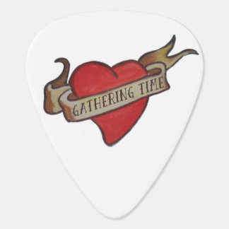 GT 'Keepsake' Heart Guitar Pick