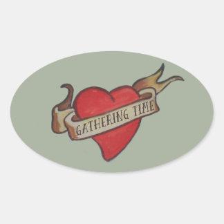 GT 'Keepsake' Heart Sticker