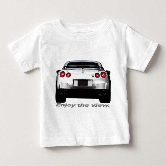 "GT-R ""Enjoy the view."" Baby T-Shirt"