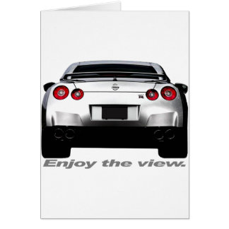 "GT-R ""Enjoy the view."" Card"