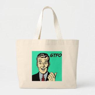 GTFO Guy Canvas Bag