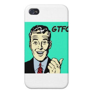 GTFO Guy iPhone 4 Case