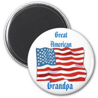 Gtrat American Grandpa Magnet