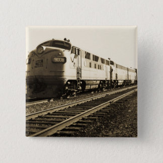 GTW Diesel Engine #9008 Train #92 Eastbound 15 Cm Square Badge