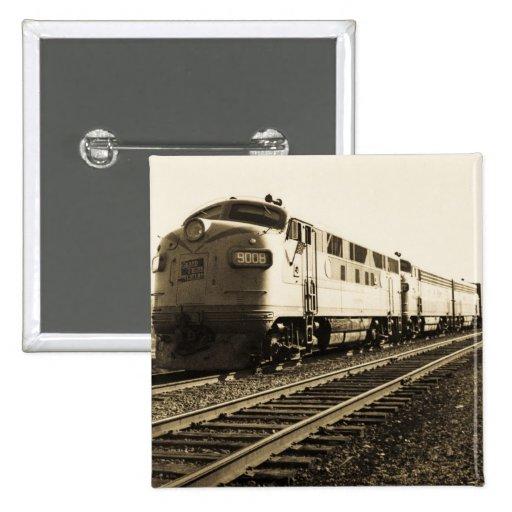 GTW Diesel Engine #9008 Train #92 Eastbound Pins