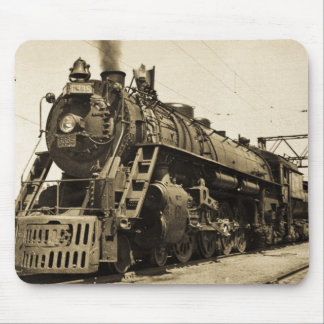 GTW Steam Engine #6335 Train #17 Mouse Mat