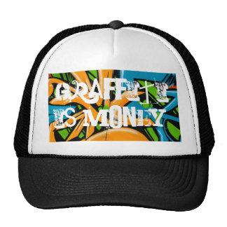 gty, Graffiti is money. Trucker Hat