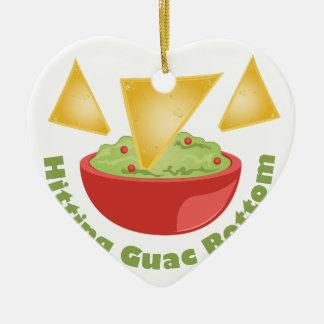 Guac Botom Christmas Ornament